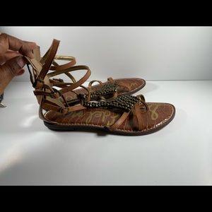 Sam Edelman Brown Stone Sandals Size 9